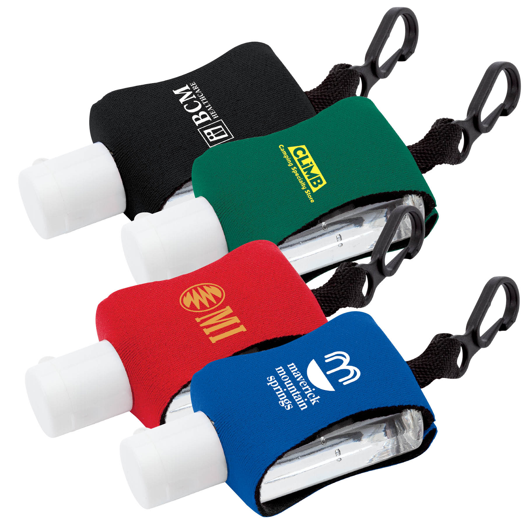 0.5 oz. Hand Sanitizer Bottle with Neoprene Sleeve