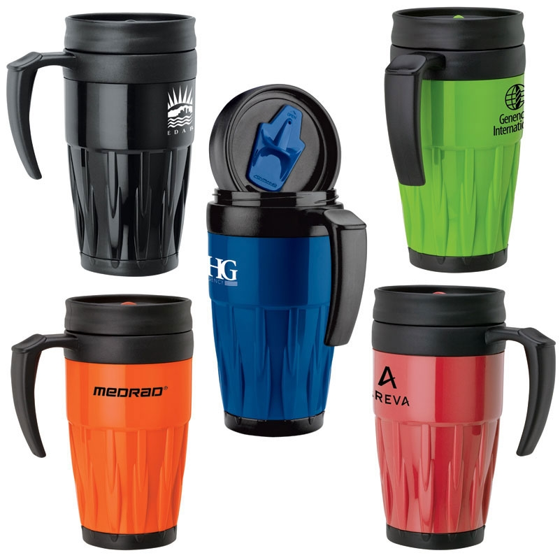 14 oz. Colored Travel PP Mug