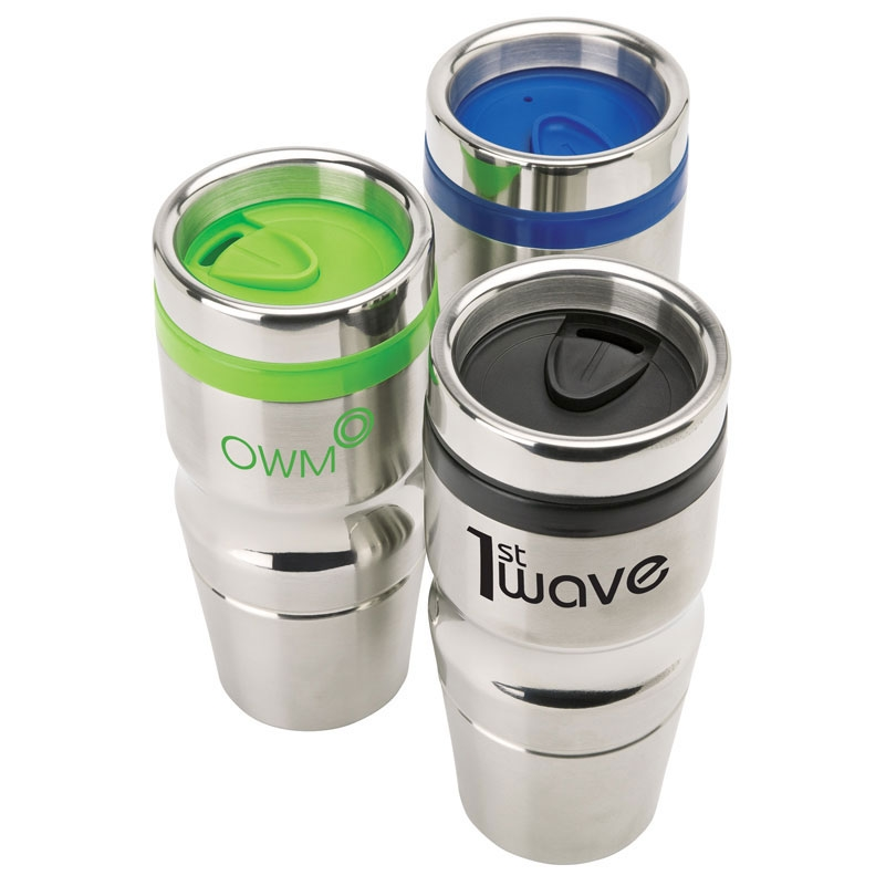 14 oz. Curve Contour Stainless Steel Tumbler