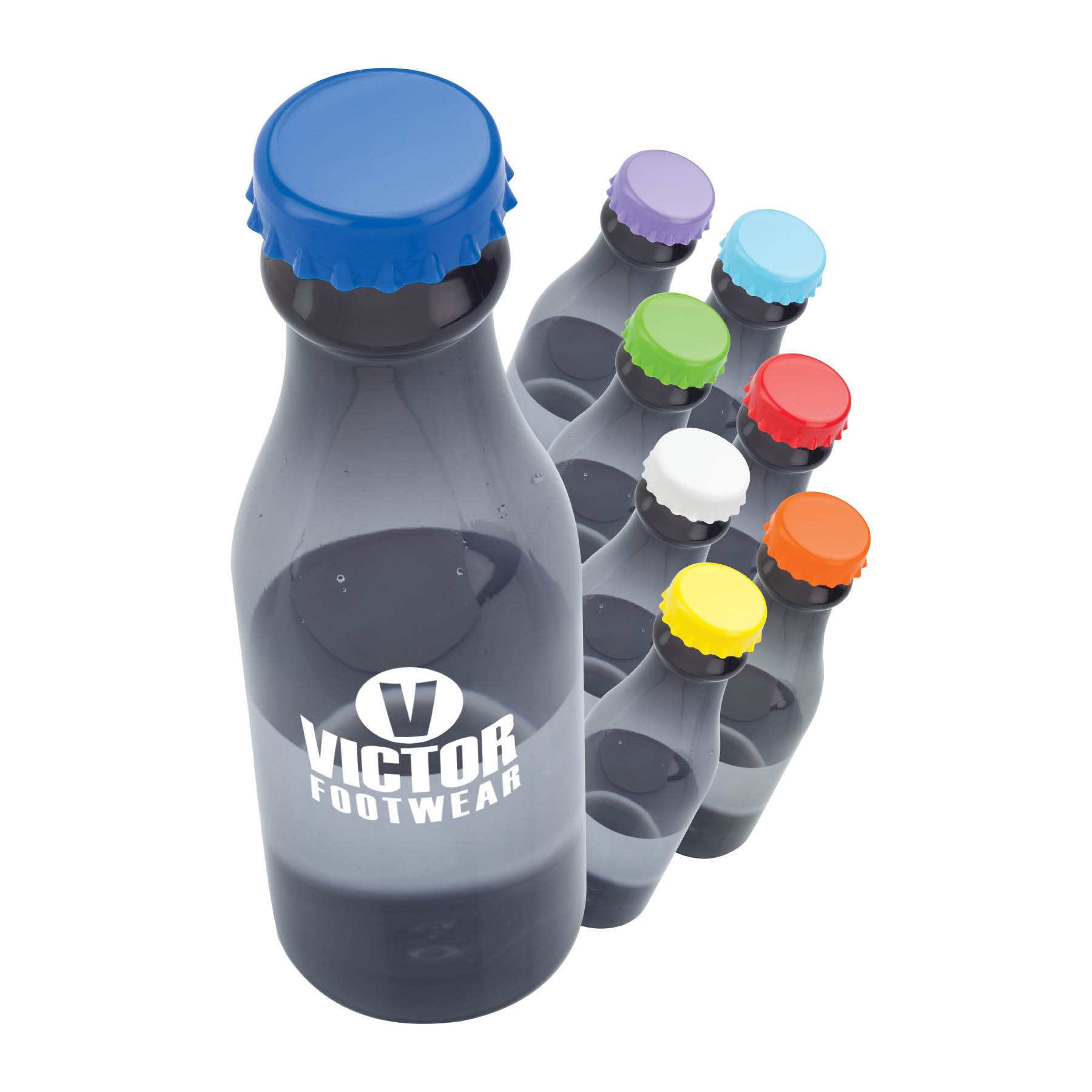 23 oz. PP Colorful Lid Water Bottle