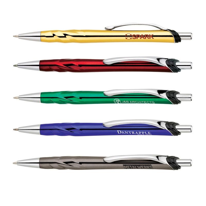Chrome Metallic Ballpoint Pen