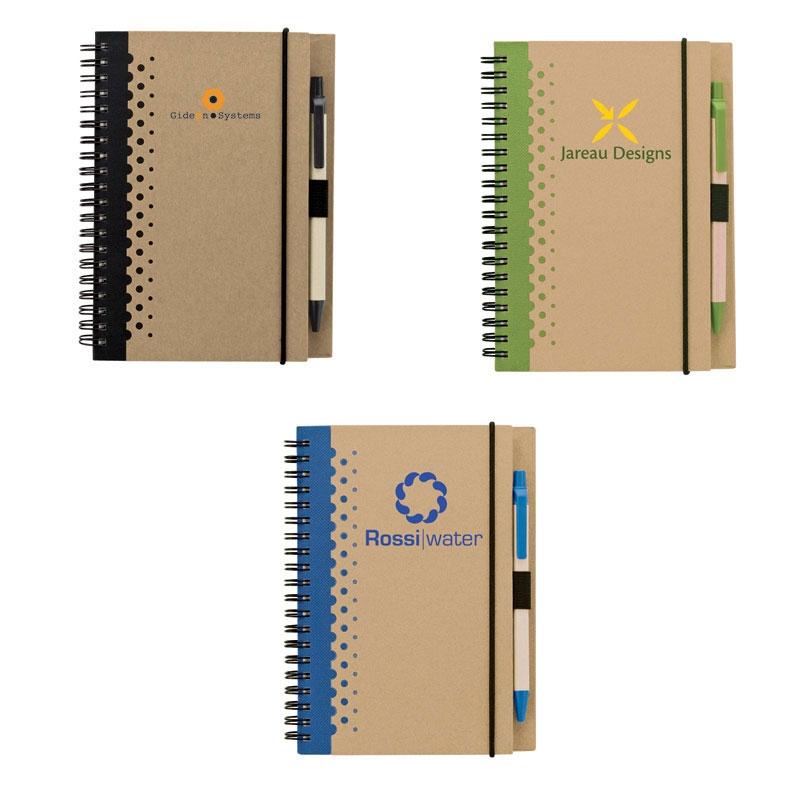 Eco-Friendly Junior Notebook & Pen