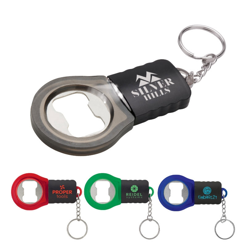 LED Bottle Opener Key Ring