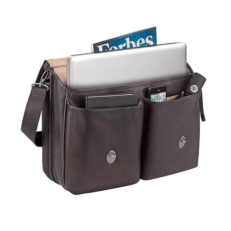 Solo 174 Executive Leather Briefcase Logo Branded Items