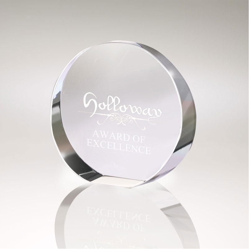 Arrendon I Small Crystal Disc Award