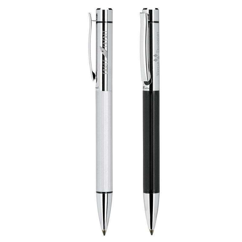 Bettoni Collection Twist Action Ballpoint Pen w/Chrome Cap