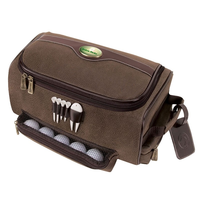 Giusti Shoe Bag w/Golf Tees & Divot Tool