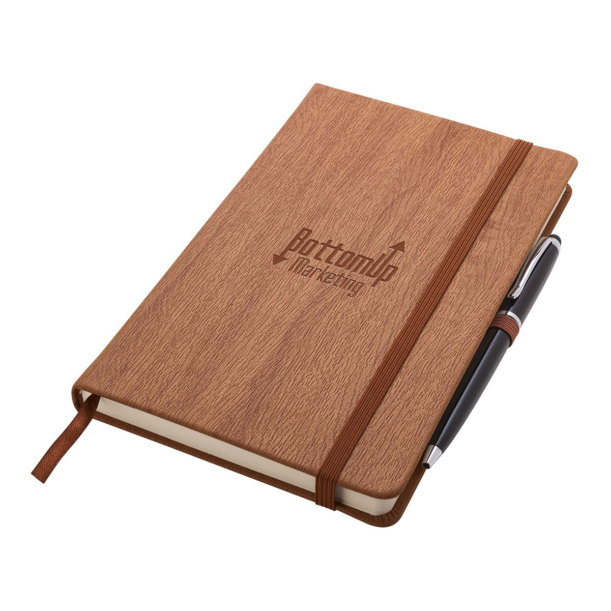 Wood Grain Junior Journal