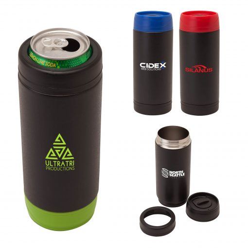 Frosty 18oz. Double Wall Steel Tumbler/Cooler
