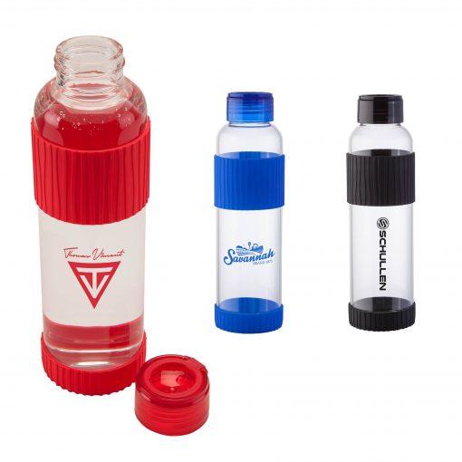 Krystal 18 oz. Glass Bottle