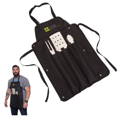 Super Grill Apron BBQ Set