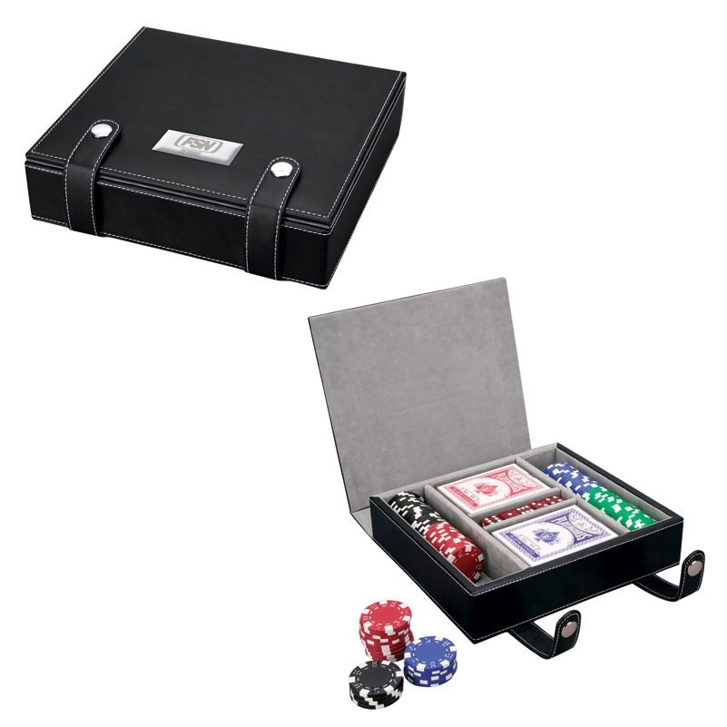 Vallate Poker Set