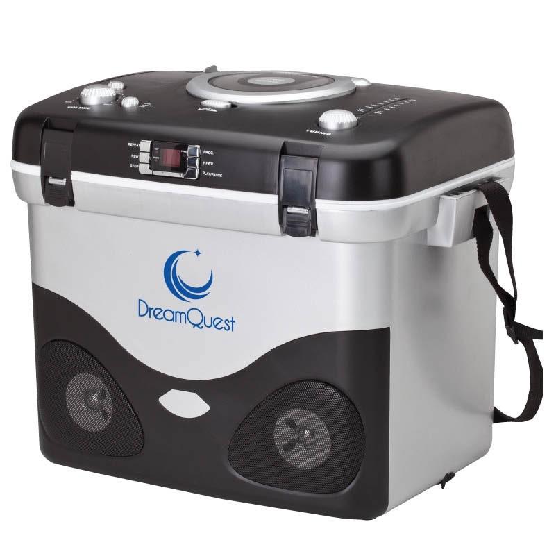 CD/MP3/AM/FM Radio Cooler