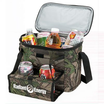 Huntwood Camo 12-Can Cooler