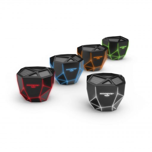 Xoopar Geo Speaker Desktop Skeletal-Lighted Wireless Speaker