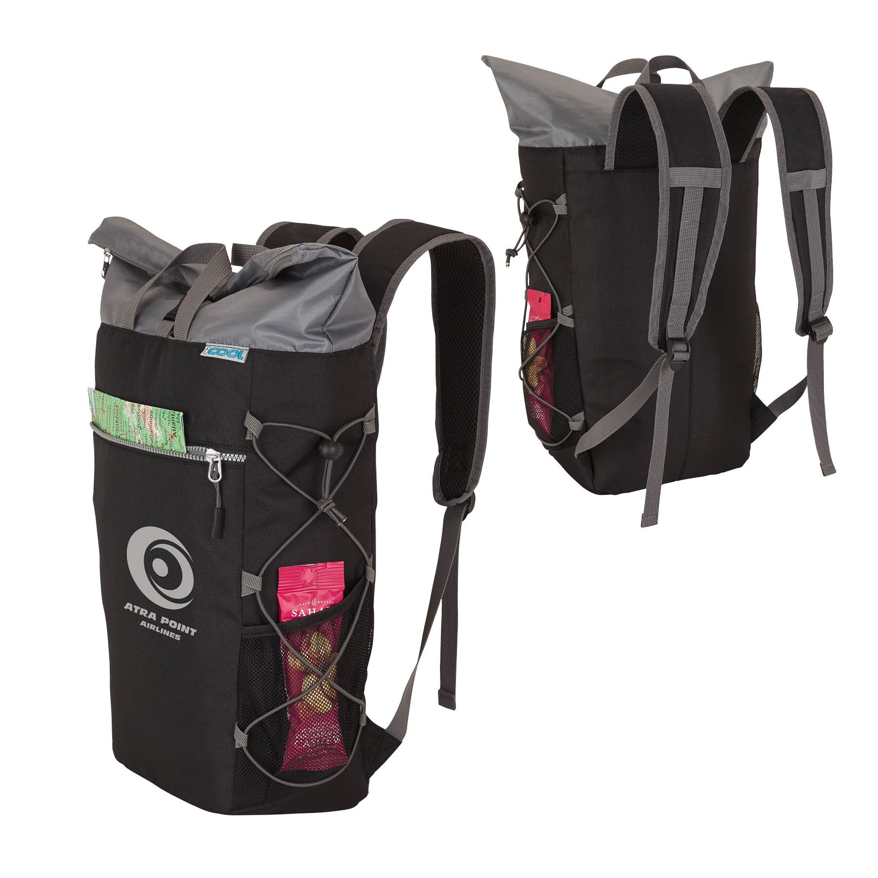 icool174 cooler backpack logo branded items
