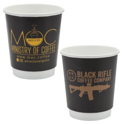 Përka® 8 oz. Double Wall Drinking Paper Cup