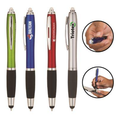 Blaze Ballpoint Pen/Stylus/LED Light
