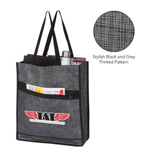 Impress Printed Tote Bag