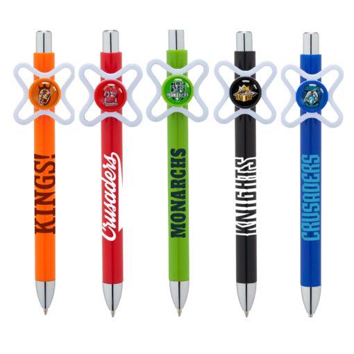 Pinwheel Spinner Clip Pen