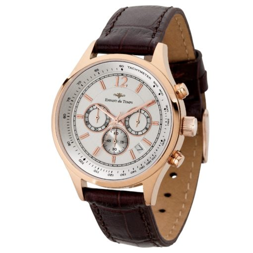 Watch Creations Women's Chronograph Watch w/Rose Gold Finish