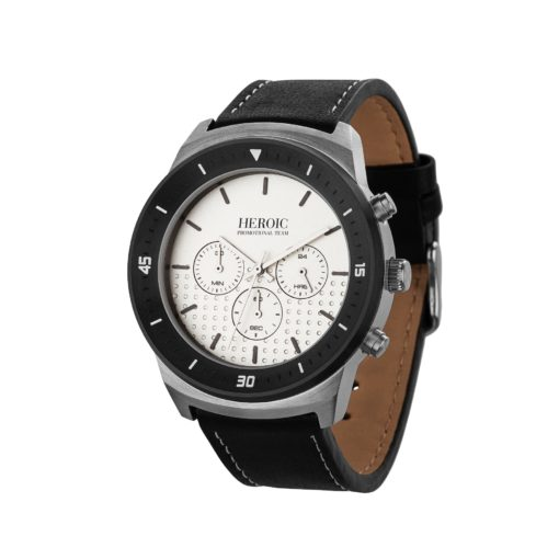 Watch Creations Unisex Chronograph Watch w/Leather Strap