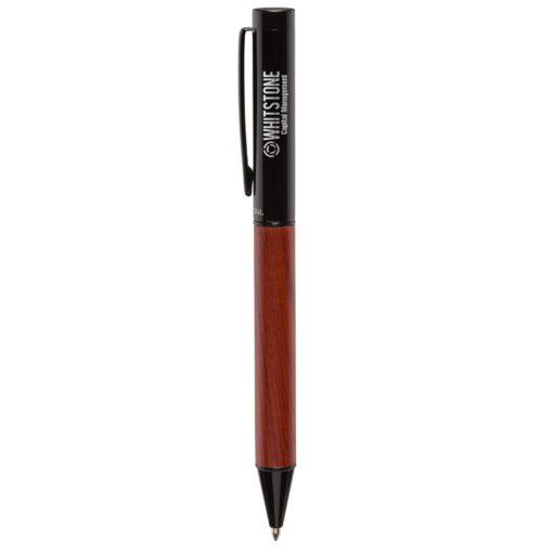 Bettoni® Alicante Ballpoint Pen w/ Wood Barrel