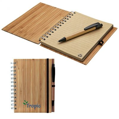 Albany Bamboo Notebook & Pen