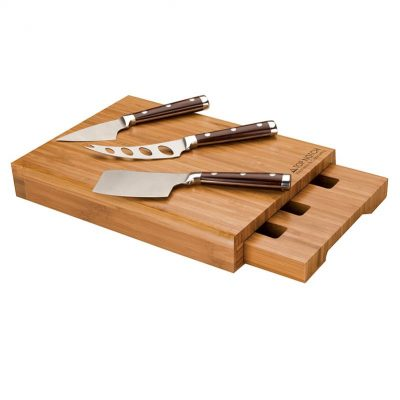 Bambu Bamboo Cheese Set