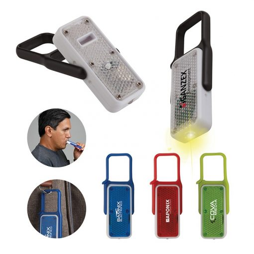 Blink LED Safety Reflector Whistle