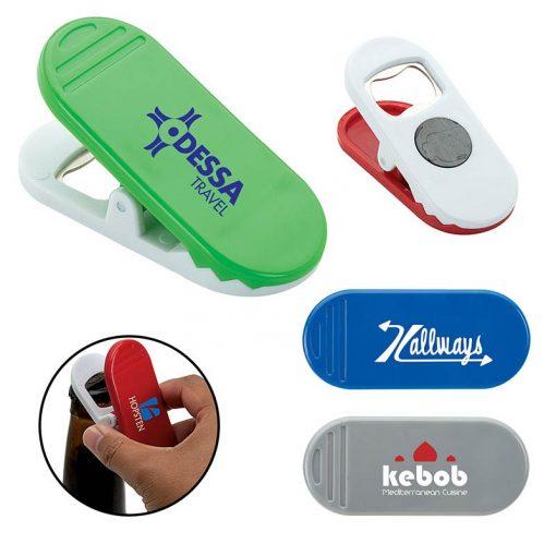 Clip-n-pop Fridge Clip Bottle Opener