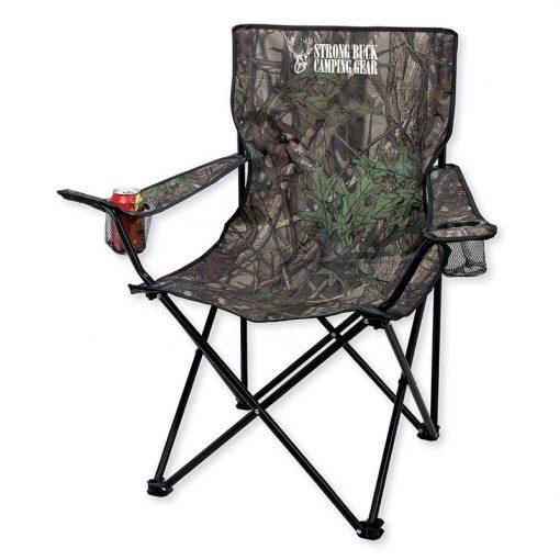 Coronado Camo Folding Chair with Carrying Bag