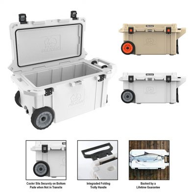 Elite 80qt Pelican Wheeled Cooler