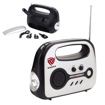 Emergency Radio Flashlight Phone Charger