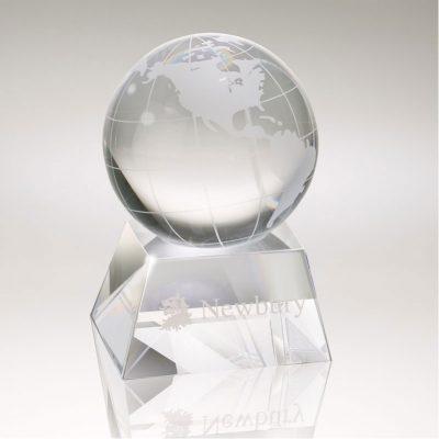 Firmada Crystal Globe