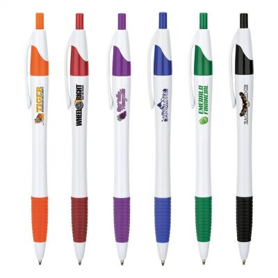 Hampton Ballpoint Pen w/Full Color Imprint
