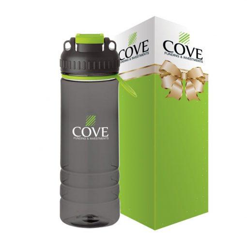 Hydration 24 oz. Tritan Water Bottle & Packaging
