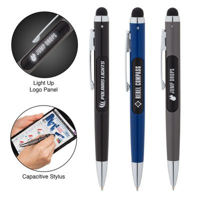 Illuminate Light Up Logo Pen