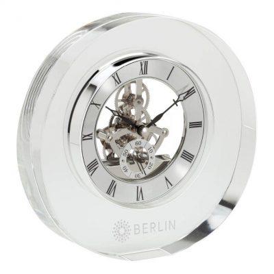 Olbia Crystal Desk Clock