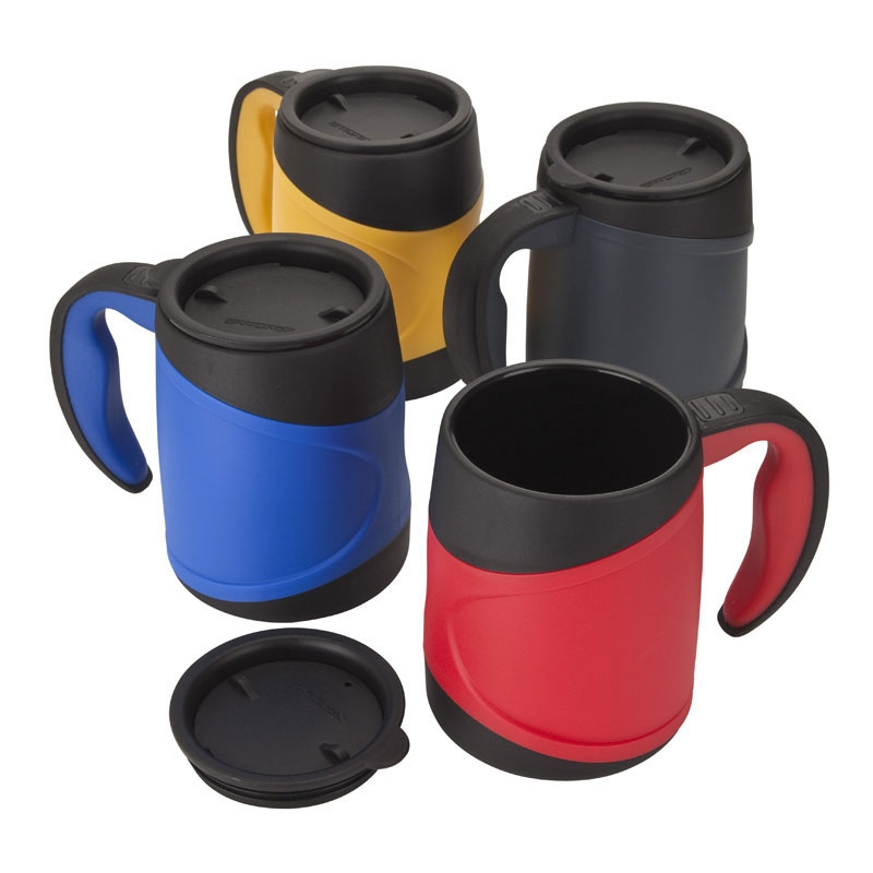 Olimpio 15 Oz Microwavable Double Wall Mug