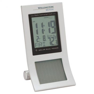 Sol Solar Radio Controlled LED Desk Clock