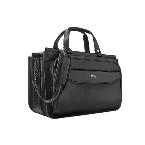 Solo Harrison Triple Compartment Briefcase