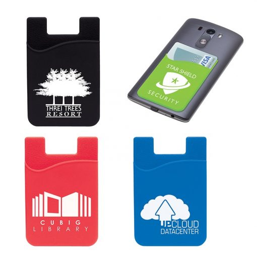 Treviso Silicone Phone Wallet