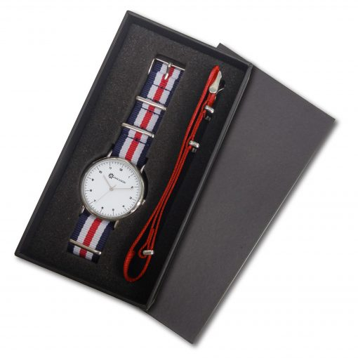 Unisex Watch With Colorful Nato Straps