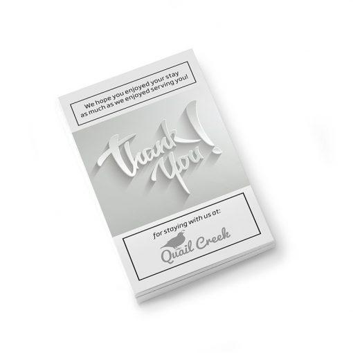 """PaperSplash 3 1/2"""" x 2"""" Insert Card"""