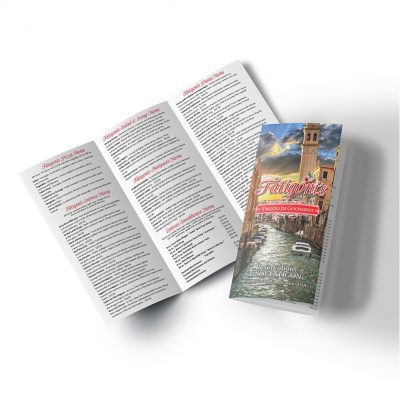 "PaperSplash 8 1/2"" x 11"" Tri-Fold Brochure"