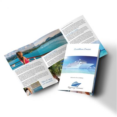 "PaperSplash 9"" x 16"" Tri-Fold Brochure"