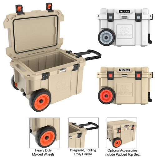 Pelican 45qt Elite Wheeled Cooler