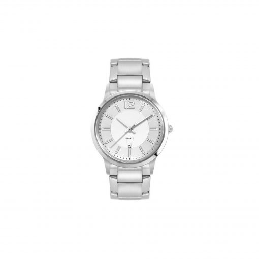 Ladies Silver Stainless Steel 3 Hand Ladies Silver Stainless Steel Case