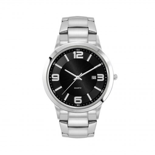 Men's Silver Stainless Steel Case Watch Men's Silver Stainless Steel Case